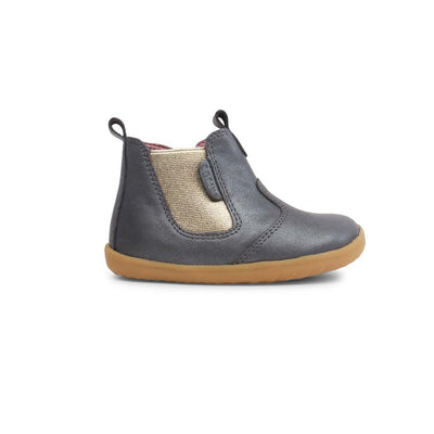 Bobux Step Up Jodhpur Boots (AW19) - Charcoal Shimmer-Boots- Natural Baby Shower