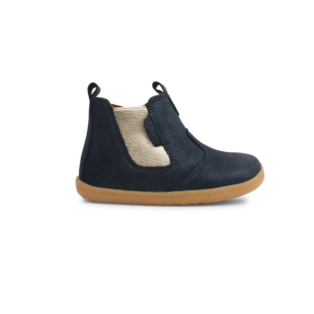 Bobux Step Up Jodhpur Boots (AW19) - Navy Shimmer-Boots- Natural Baby Shower