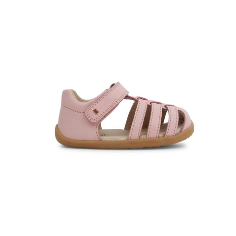 Bobux Step Up Jump Sandals - Seashell Pink-Sandals- Natural Baby Shower