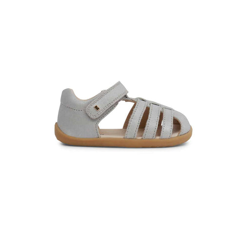 Bobux Step Up Jump Sandals - Silver Shimmer-Sandals- Natural Baby Shower