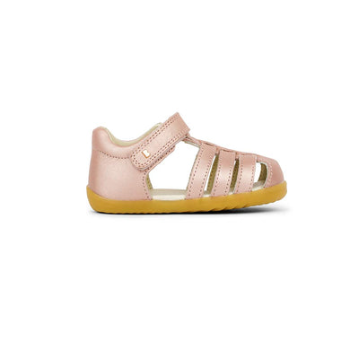Bobux Step-Up Jump Sandals - 2020 - Rose Gold-Sandals- Natural Baby Shower