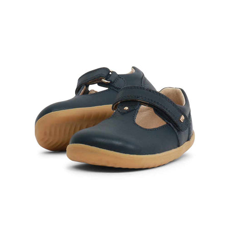 Bobux Step Up Louise Shoes - Navy-Shoes- Natural Baby Shower