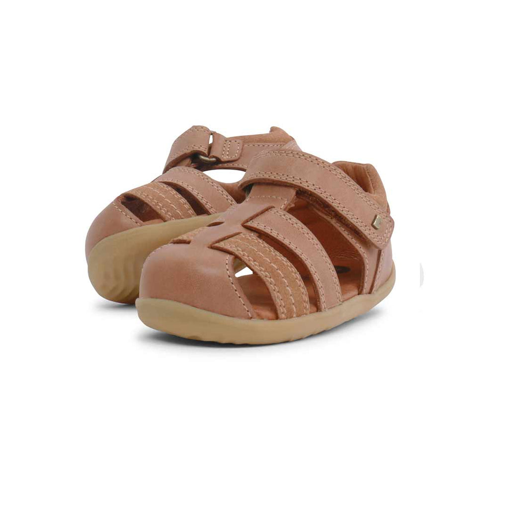 Bobux Step Up Roam Sandals - Caramel-Sandals- Natural Baby Shower