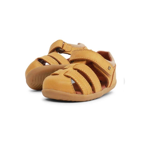Bobux Step Up Roam Sandals - Chartreuse-Sandals- Natural Baby Shower