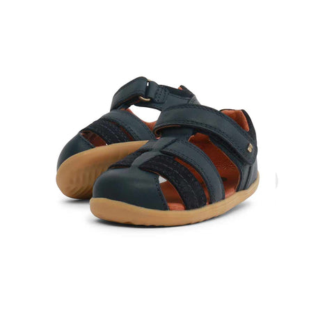 Bobux Step Up Roam Sandals - Navy-Sandals- Natural Baby Shower