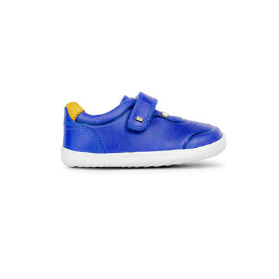 Bobux Step-Up Ryder Trainers - 2020 - Blueberry & Chartreuse-Shoes- Natural Baby Shower
