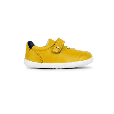 Bobux Step-Up Ryder Trainers - 2020 - Chartreuse & Navy-Shoes- Natural Baby Shower