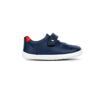 Bobux Step-Up Ryder Trainers - 2020 - Navy & Red-Shoes- Natural Baby Shower