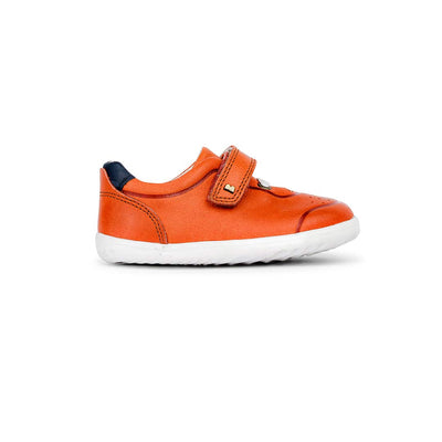 Bobux Step-Up Ryder Trainers - 2020 - Paprika & Navy-Shoes- Natural Baby Shower