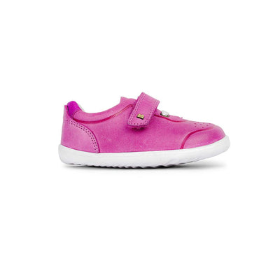 Bobux Step-Up Ryder Trainers - 2020 - Pink & Raspberry-Shoes- Natural Baby Shower