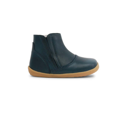 Bobux Step Up Shire Boots - Navy-Boots- Natural Baby Shower
