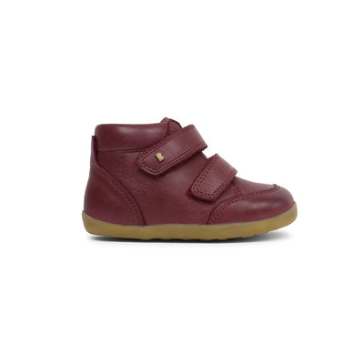Bobux Step-Up Timber Boots - Plum - 2020-Boots- Natural Baby Shower