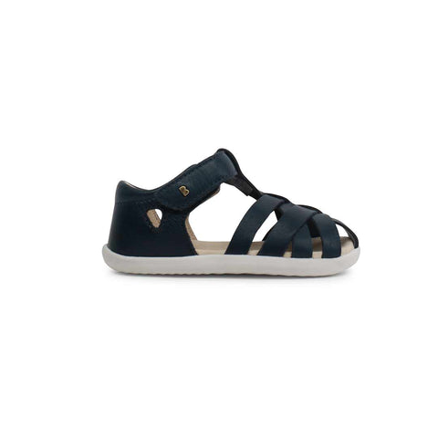 Bobux Step Up Tropicana Sandals - Navy-Sandals- Natural Baby Shower