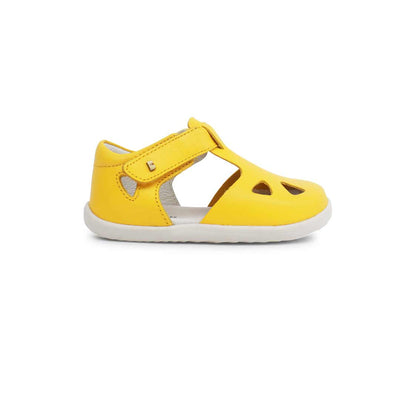 Bobux Step-Up Zap Sandals - 2020 - Yellow-Sandals- Natural Baby Shower