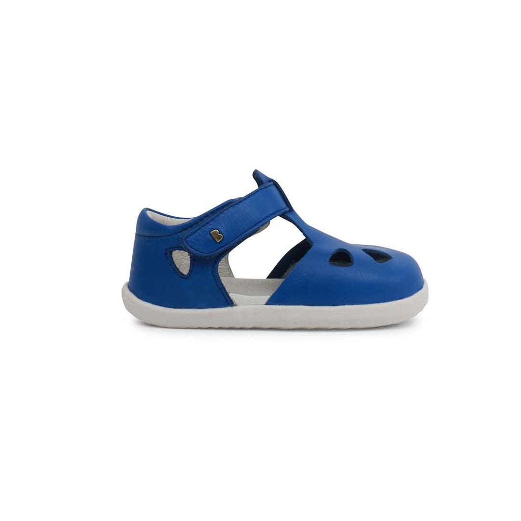 91ccdd022620 Bobux Step Up Zap Sandals - Sapphire-Sandals- Natural Baby Shower