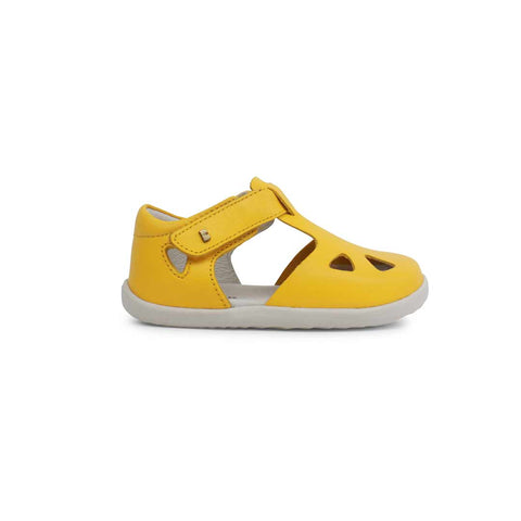 Bobux Step Up Zap Sandals - Yellow-Sandals- Natural Baby Shower