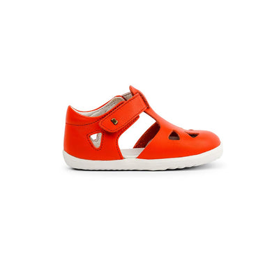 Bobux Step-Up Zap Sandals - 2020 - Orange-Sandals- Natural Baby Shower