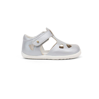 Bobux Step-Up Zap Sandals - 2020 - Silver-Sandals- Natural Baby Shower