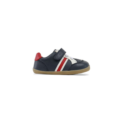 Bobux Trackside Shoes - Navy/Red