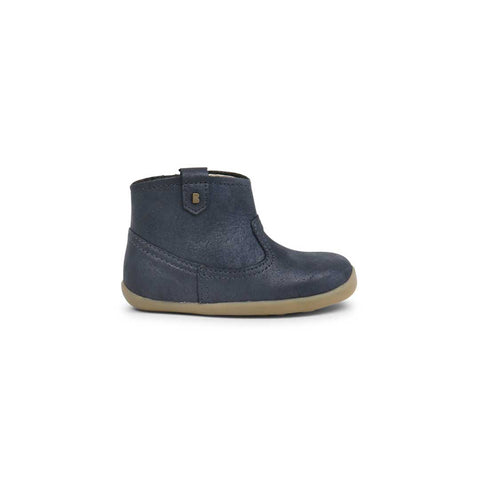 Bobux Step Up Vale Boots - Navy-Boots- Natural Baby Shower