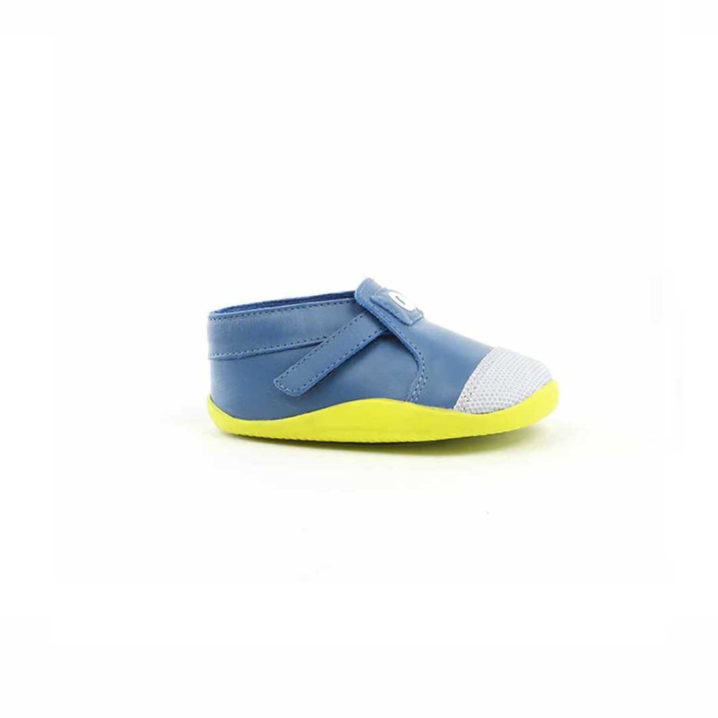 Bobux Xplorer Origin Shoes - Cobalt + Citrus