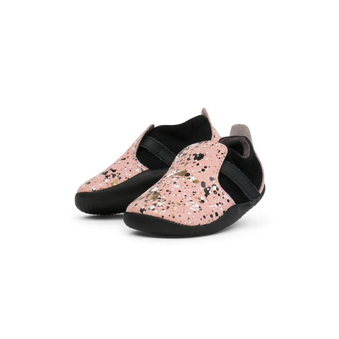 Bobux Xplorer Spekkel Shoes - Printed Pink 1