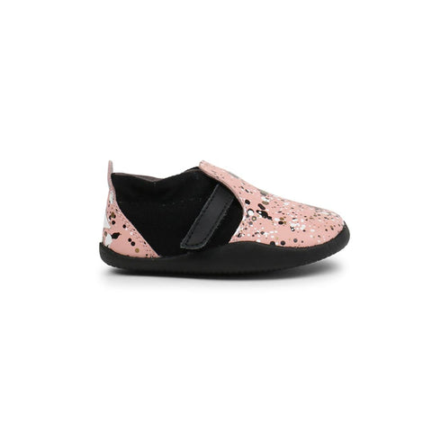 Bobux Xplorer Spekkel Shoes - Printed Pink