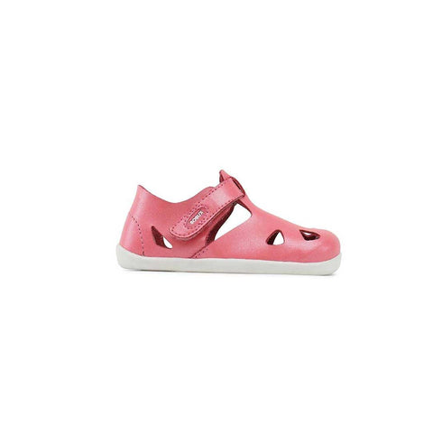 Bobux Step Up Zap Sandals - Coral-Sandals- Natural Baby Shower