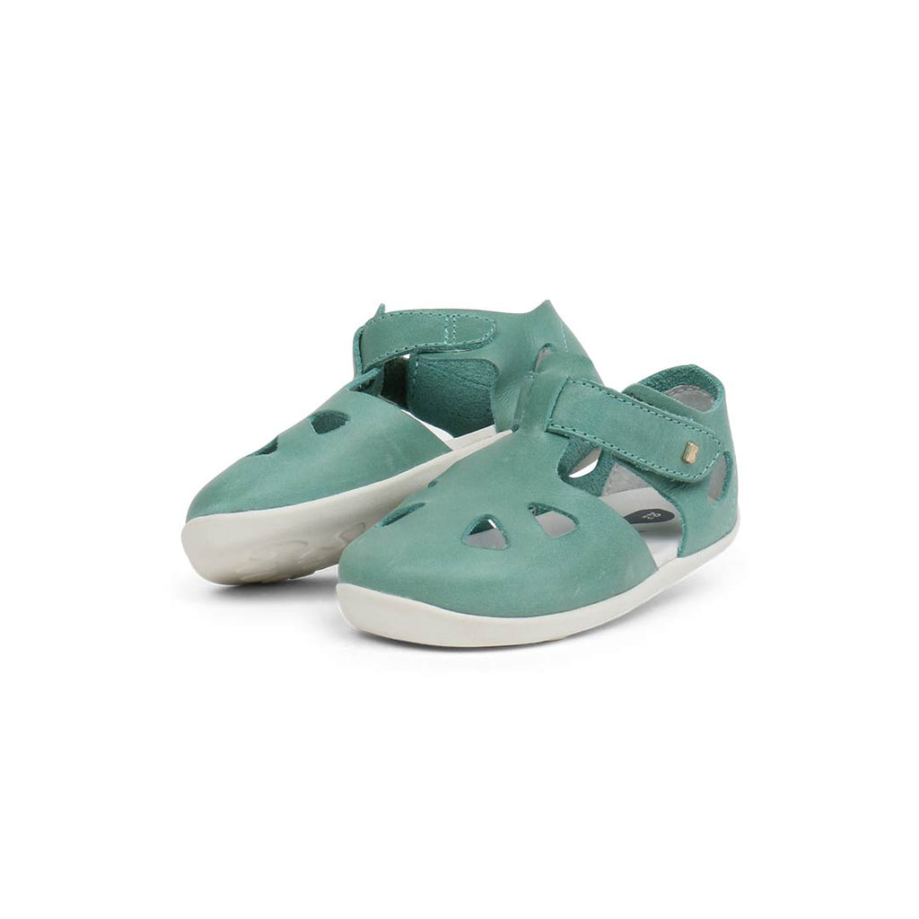 Bobux Zap Sandals - Teal-Sandals- Natural Baby Shower