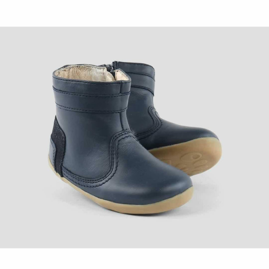 Bobux Bolt Boot - Navy Front
