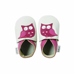Bobux Shoes in Milk Owl