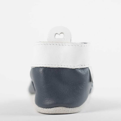 Bobux Shoes - Navy Daisy Chain - Baby Shoes & Booties - Natural Baby Shower