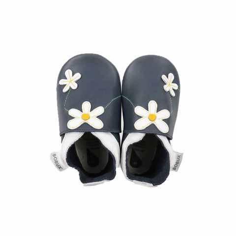 Bobux Shoes in Navy Daisy Chain