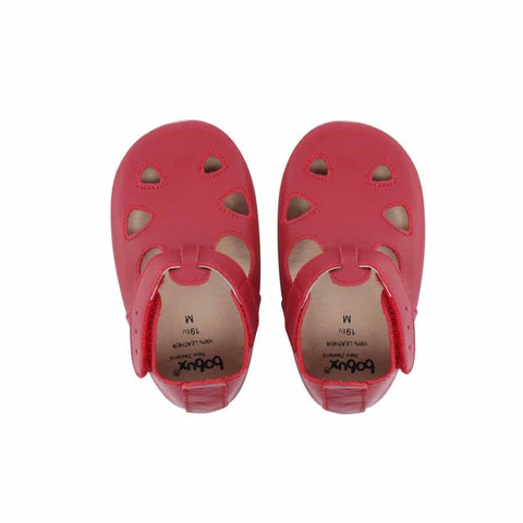 Bobux Shoes Red Sandal