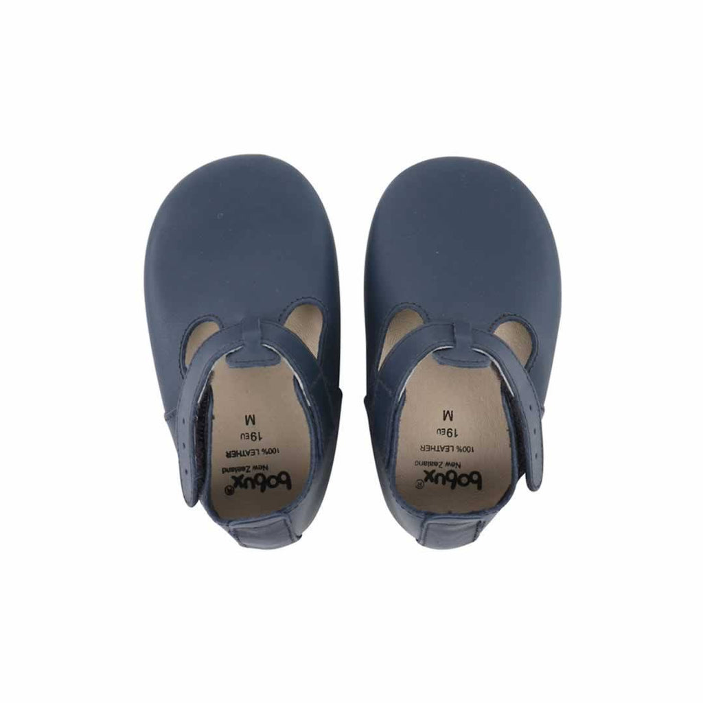 Bobux Shoes T-Bar Navy
