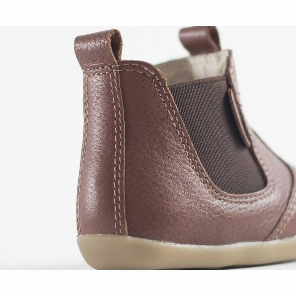 Bobux Step Up Jodphur Boots - Toffee Back