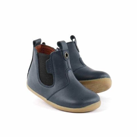 Bobux Step Up Jodphur Boots - Navy - Boots - Natural Baby Shower