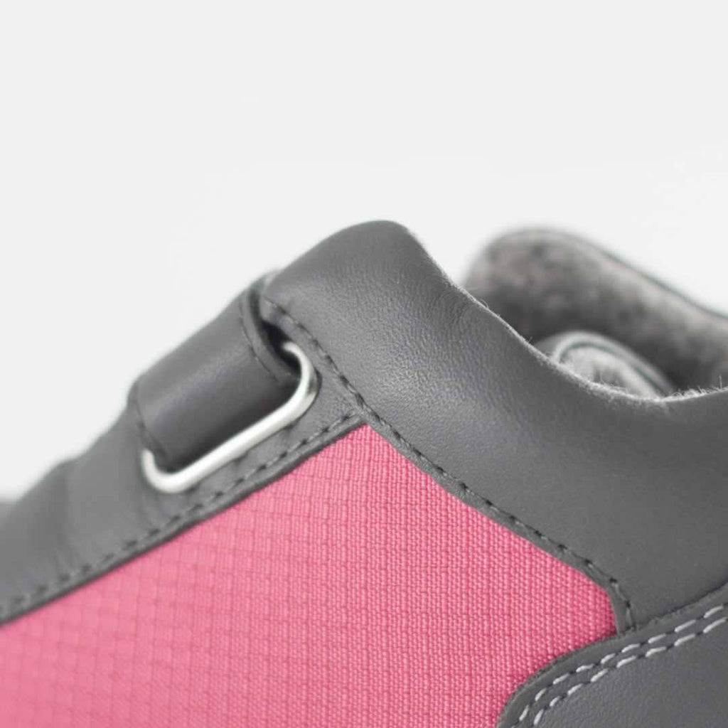 Bobux Step Up Tint Shoes - Fuchsia Detail