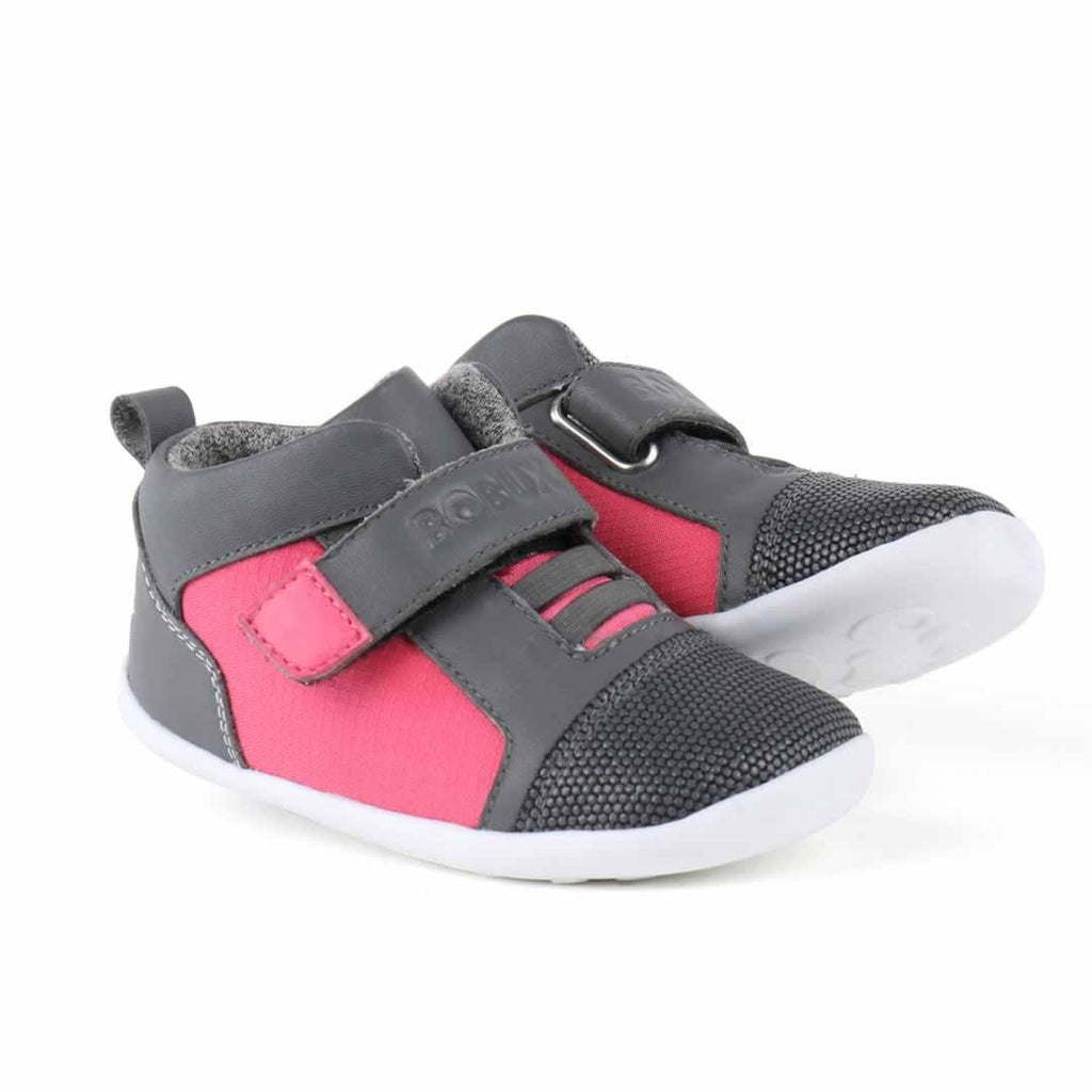 Bobux Step Up Tint Shoes - Fuchsia Side