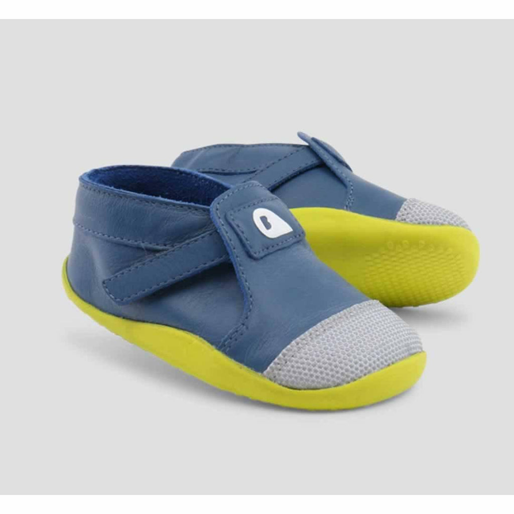 Bobux Xplorer Origin Shoes - Cobalt + Citrus - Baby Shoes & Booties - Natural Baby Shower