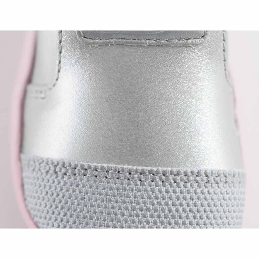 Bobux Xplorer Origin Shoes - Silver + Ice Pink - Baby Shoes & Booties - Natural Baby Shower