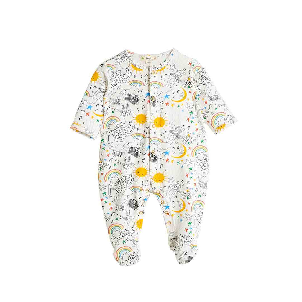 7acbf59aa Bonnie Mob Billy Sleepsuit in Rainbow Print – Natural Baby Shower
