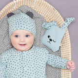 Bonnie Mob Bunny Toy - Blue-Soft Toys- Natural Baby Shower