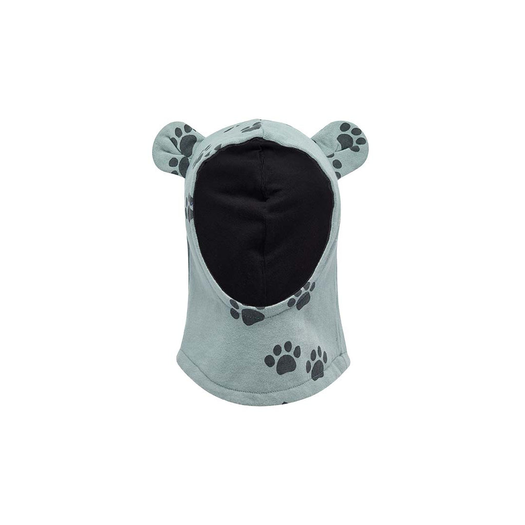 bonnie mob hustle balaclava with ears in teal paws natural baby shower