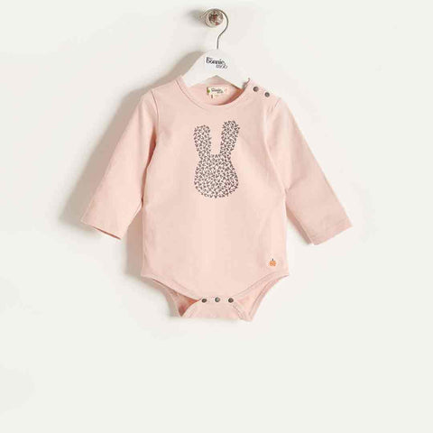 Bonnie Mob Long Sleeve Bodysuit - Pink
