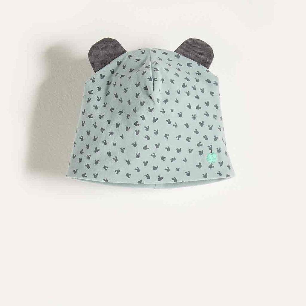 Bonnie Mob Reversible Baby Beanie Hat - Blue
