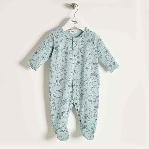 Bonnie Mob Sleepsuit - Blues