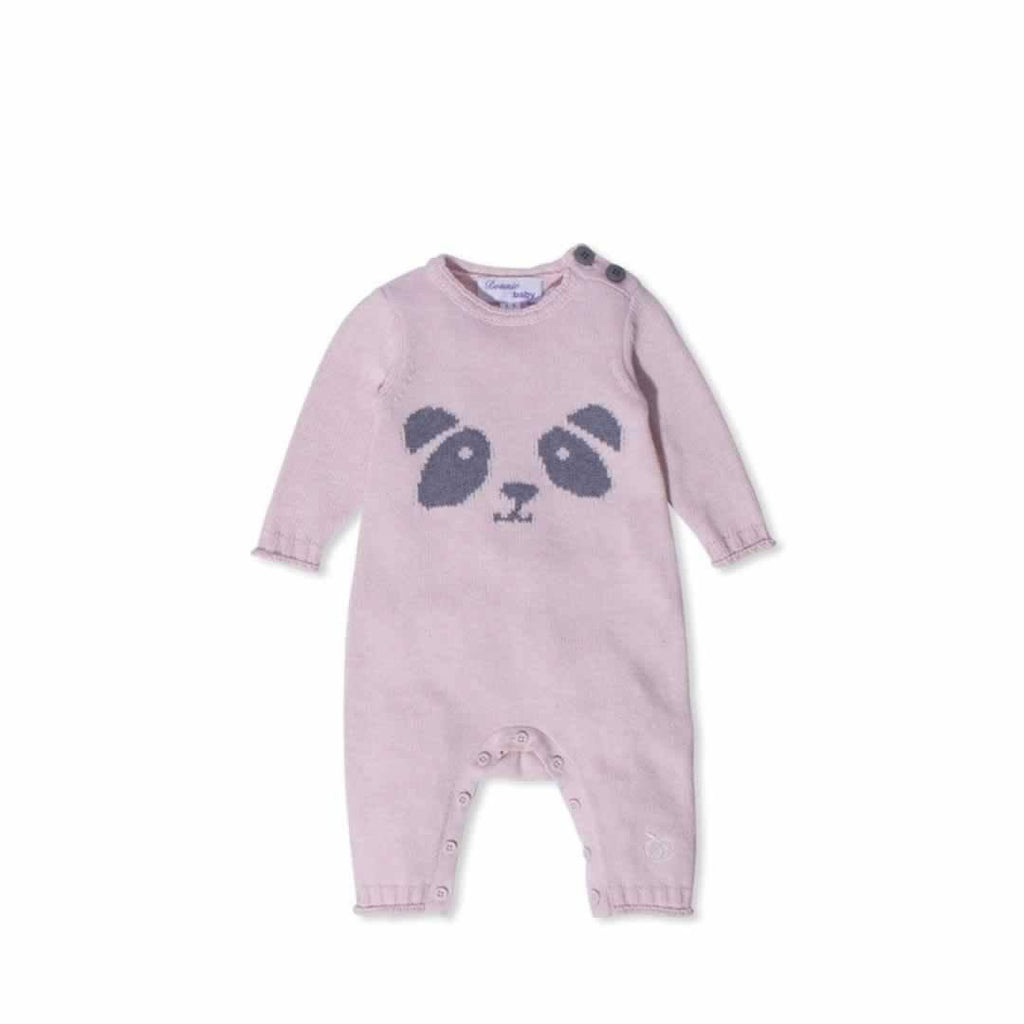 Bonnie Baby Panya Playsuit - Pink Calico