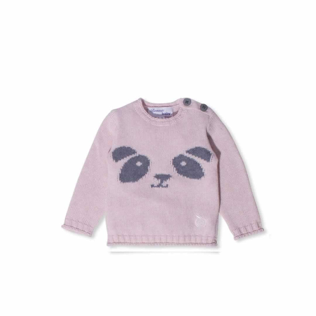 Bonnie Baby Poe Sweater - Pink Calico