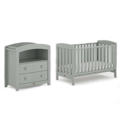 Boori Alice 2 Piece Nursery Set - Pebble-Nursery Sets- Natural Baby Shower